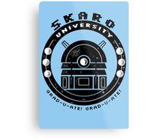 Dalek College Metal Print