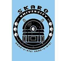 Dalek College Photographic Print