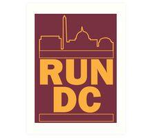 Redskins - Run DC - Run DMC Art Print
