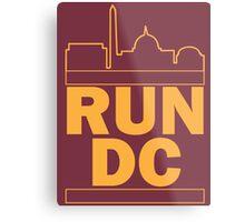 Redskins - Run DC - Run DMC Metal Print