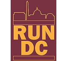 Redskins - Run DC - Run DMC Photographic Print