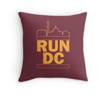 Redskins - Run DC - Run DMC Throw Pillow