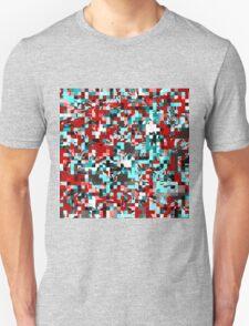 Pixelated 3 Unisex T-Shirt