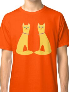 A Pair Of Kitty Cats Classic T-Shirt