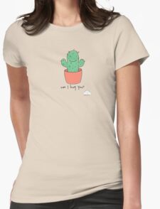 Can I hug you? Womens Fitted T-Shirt