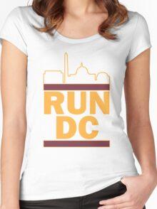 Redskins - Run DC - Run DMC Women's Fitted Scoop T-Shirt