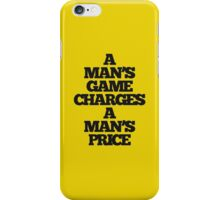 TRUE DETECTIVE MAN'S GAME iPhone Case/Skin