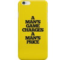 TRUE DETECTIVE MAN'S GAME iPhone Case/Skin