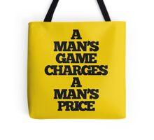 TRUE DETECTIVE MAN'S GAME Tote Bag