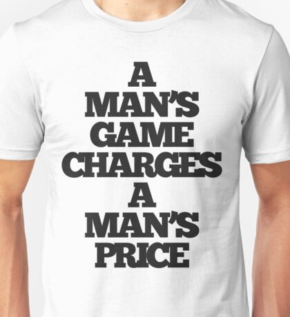 TRUE DETECTIVE MAN'S GAME Unisex T-Shirt