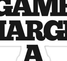 TRUE DETECTIVE MAN'S GAME Sticker