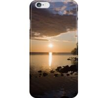 September evening on Lake Nipissing iPhone Case/Skin