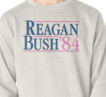 Reagan Bush 84 Pink Preppy Republican Pullover