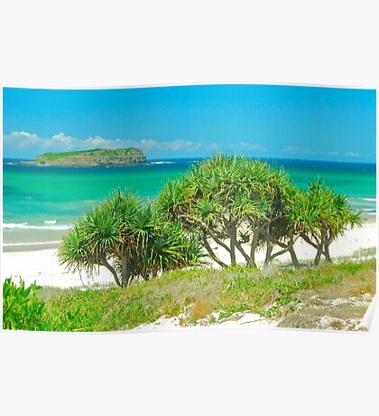 Cook Island View Poster