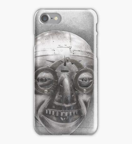 Henry VIII's horned helmet iPhone Case/Skin