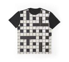 Crossword Graphic T-Shirt