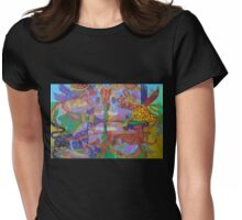 Four Corners of the Mind Womens Fitted T-Shirt