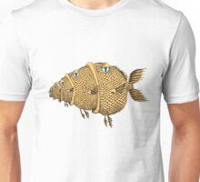 fish eating a fish eating a fish... Unisex T-Shirt