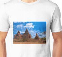 Bagan Pagodas2, Burma. Unisex T-Shirt