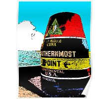 Southernmost Point Buoy Poster