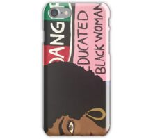 educated black girl iPhone Case/Skin