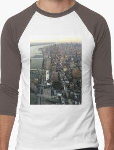 Birds Eye View Men's Baseball ¾ T-Shirt