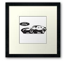 Shelby Cobra Daytona Framed Print