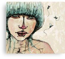 muggy Canvas Print