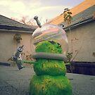 Alien Snowman by mdkgraphics