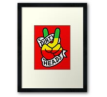 Dirty Head, Dirty Mind, Peace Out ! Framed Print