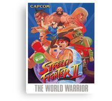 Frank Ocean - Street Fighter Canvas Print
