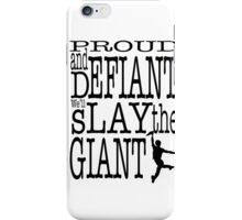 Newsies: Slay the Giant iPhone Case/Skin