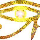 Eye of RA - Enter The Life Star || Egyptian Stickers by SirDouglasFresh