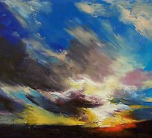 Cloudburst by Michael Creese
