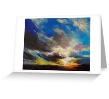 Cloudburst Greeting Card
