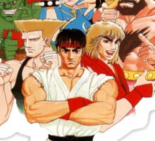 Street Fighter II Sticker