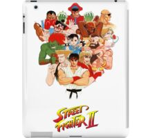 Street Fighter II iPad Case/Skin