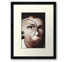 Magnified Framed Print