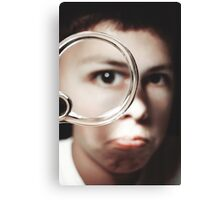 Magnified Canvas Print