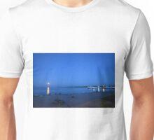 Moonlight on the beach Unisex T-Shirt