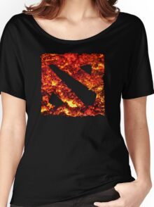 Dota 2 Magma Women's Relaxed Fit T-Shirt