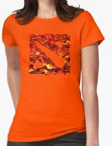 Dota 2 Magma Womens Fitted T-Shirt