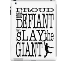Newsies: Slay the Giant iPad Case/Skin
