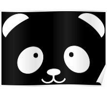 Panda Face Poster