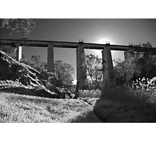 Currency Creek rail bridge Photographic Print