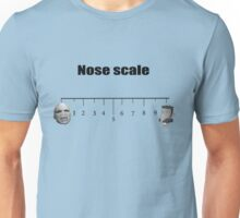 On a nose scale of.... Unisex T-Shirt
