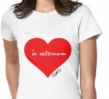 Eternal Love Womens Fitted T-Shirt