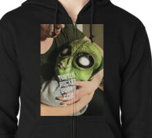 HYBRID ALIEN BABY collection Zipped Hoodie