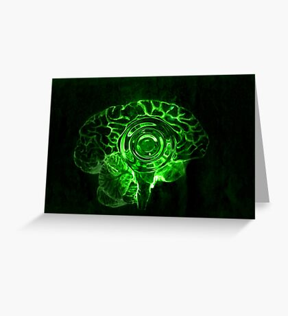 Brain Drop Greeting Card