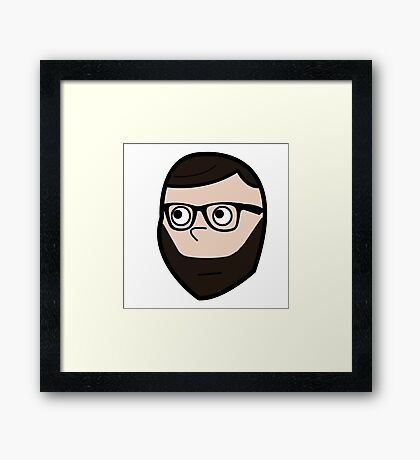 I Wonder Guy Framed Print